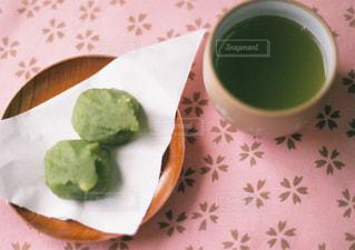 ずんだ餅とお茶 - No.871270