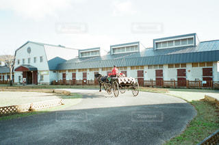 馬車の写真・画像素材[1283114]