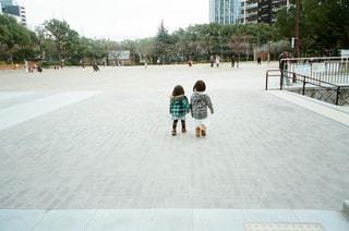 公園いる女の子の写真・画像素材[1283115]