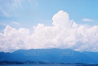 山と空と雲の写真・画像素材[869704]