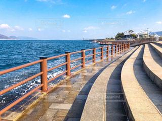 香川 高松の海 瀬戸内海 オーシャンビューの写真・画像素材[1792163]