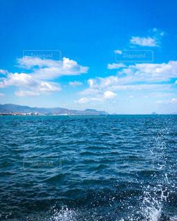 香川 高松の海 瀬戸内海 オーシャンビューの写真・画像素材[1792164]