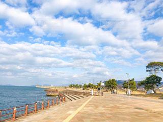 香川 高松の海 瀬戸内海 オーシャンビューの写真・画像素材[1792167]