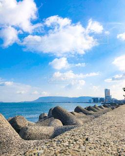 香川 高松の海 瀬戸内海 オーシャンビューの写真・画像素材[1792170]