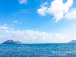 香川 高松の海 瀬戸内海 オーシャンビューの写真・画像素材[1792172]