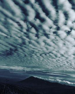 八幡平からの岩手山の写真・画像素材[870827]