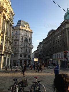 ウィーンの街角の写真・画像素材[871357]