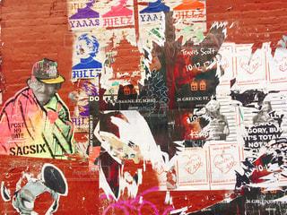 ブルックリンの壁の写真・画像素材[871723]