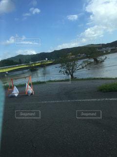増水した河川 - No.872727