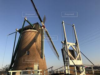 日本唯一の風車の写真・画像素材[932930]