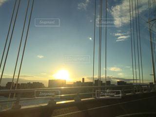 沈む太陽の写真・画像素材[922651]