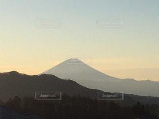 朝の富士山の写真・画像素材[939230]