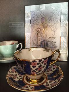 ティーカップの写真・画像素材[1422074]
