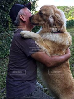 hug & kiss❣️の写真・画像素材[1524499]