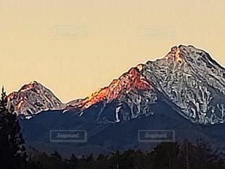 山の稜線の写真・画像素材[1708897]