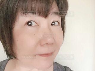 髪切りましたの写真・画像素材[2166374]