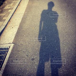 影と陰の写真・画像素材[879242]