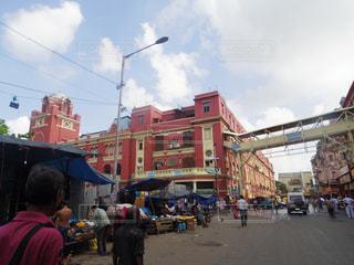 インドの街並みの写真・画像素材[879298]