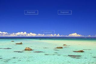 癒しの海の写真・画像素材[3099600]