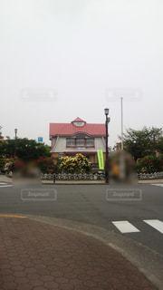 田園調布駅の噴水広場の写真・画像素材[886242]