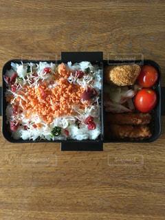 今日のお弁当の写真・画像素材[879947]