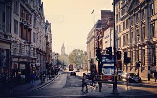 イギリス:ロンドン 映画のワンシーン風の写真・画像素材[875902]