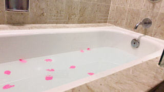 バラ風呂の写真・画像素材[876747]