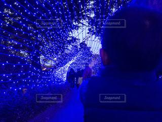 クリスマスイルミネーション①の写真・画像素材[878266]