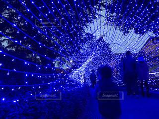 クリスマスイルミネーション②の写真・画像素材[878268]