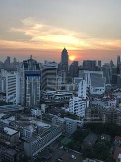 バンコクの夕暮れの写真・画像素材[878087]