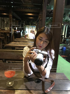 カメラ女子 - No.908742