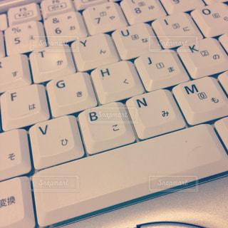 コンピューターのキーボードの写真・画像素材[878651]