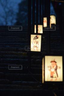 大津絵の石段の写真・画像素材[900555]
