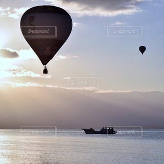 熱気球の写真・画像素材[905486]