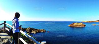 海を眺めての写真・画像素材[950274]