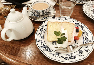 純喫茶のケーキの写真・画像素材[882056]