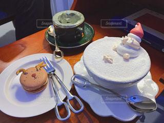 クリスマスのカフェの写真・画像素材[1727402]