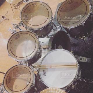 ドラムセットの写真・画像素材[879580]