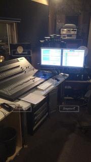 レコーディングスタジオの写真・画像素材[893225]