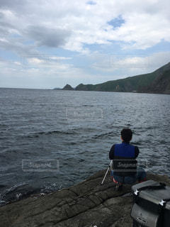 積丹の釣りの穴場。の写真・画像素材[893229]