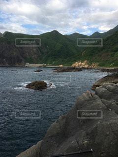 積丹の海、釣りの穴場。の写真・画像素材[893230]