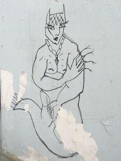 オストラヴァで見つけた落書き。の写真・画像素材[908727]
