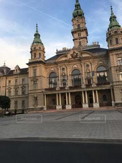 ハンガリー ジェールの街並みの写真・画像素材[2063735]