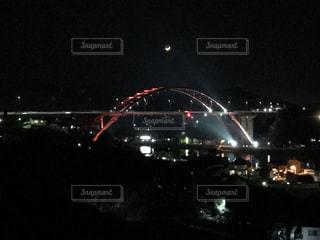 音戸大橋(夜)の写真・画像素材[879583]