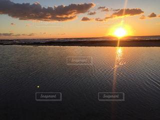 夕陽の写真・画像素材[885202]