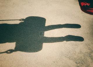 ブランコの影の写真・画像素材[882910]