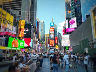 ニューヨーク タイムズスクエアの写真・画像素材[905966]