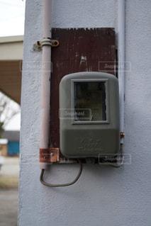 ガスメーターの写真・画像素材[1119623]