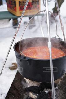 冬キャンプの写真・画像素材[1119625]