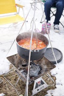 冬キャンプの写真・画像素材[1119627]